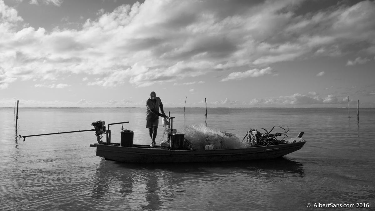 Pescador Tatuamunha amanecer