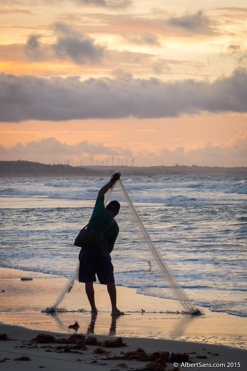 pescador red equilibrio