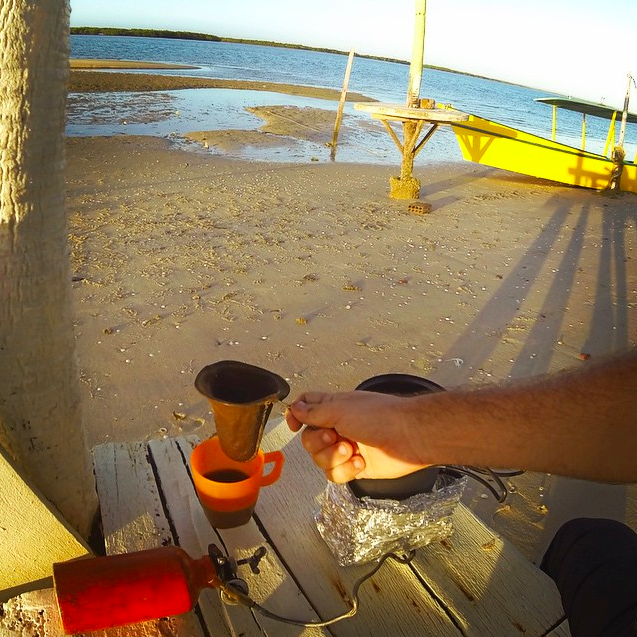 cafe nómada trapo