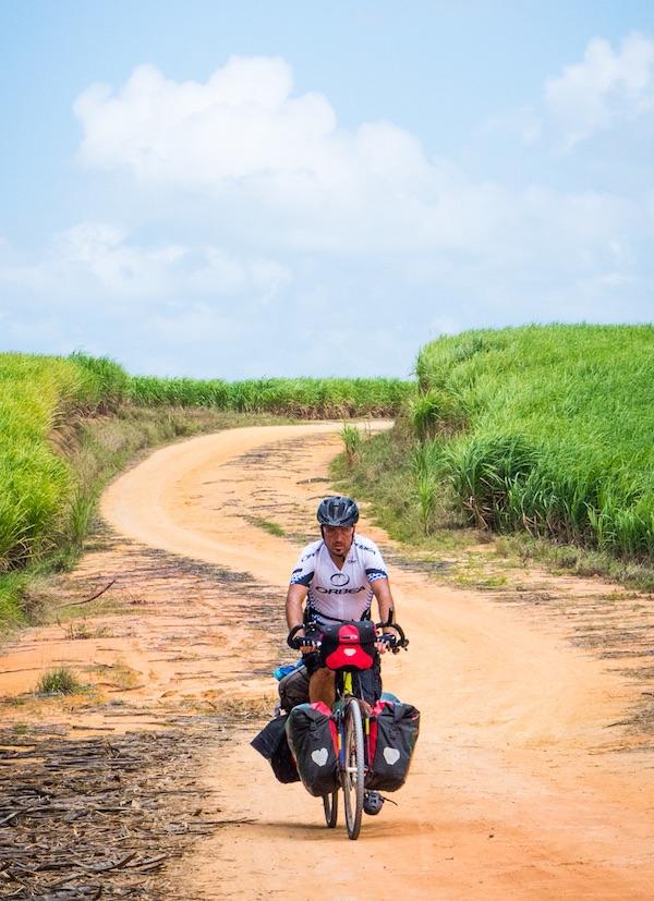 Bajada serpiente bicicleta