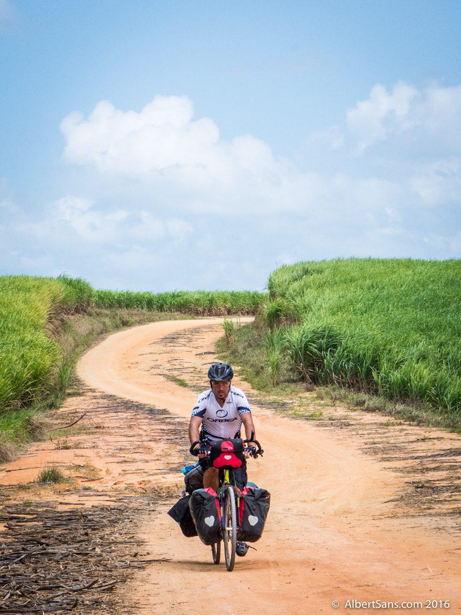 albert sans cicloturista